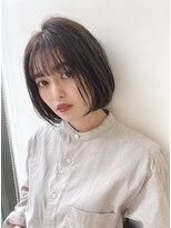 ユーフォリアギンザ(Euphoria GINZA)大人かわいい小顔☆無造作カール×前下がりミニボブ担当畑