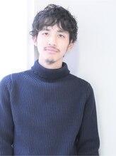 ビグディー サロン 棗(BIGOUDI salon natsume)《ジェントルマン》ゆるめウェーブで大人カジュアル