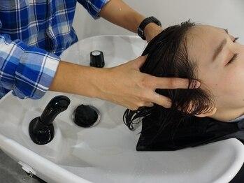 リーブル(Libre)の写真/スペシャリストによるヘッドスパでたるみを改善♪頭皮から癒されながら白髪・クセ毛・パサつきの予防を◎