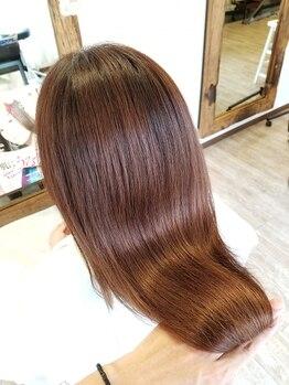 ルートバイエアー(Root by air)の写真/【Aujuaソムリエ多数在籍】ダメージをリセットして何度も触れたくなるような輝くツヤ髪が叶う♪