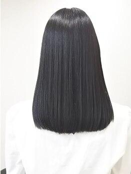 美容室シエル(Ciel)の写真/≪お店イチオシ!低温縮毛矯正!≫髪に優しく、自然な仕上がりが好評◎うねった癖毛もお手入れが簡単に♪