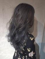 オーブ ヘアー アオヤマ 青山店(AUBE HAIR AOYAMA)透明感あるカラーの柔らかスタイル
