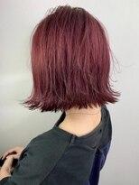 ソース ヘア アトリエ(Source hair atelier)【SOURCE】カシスレッド