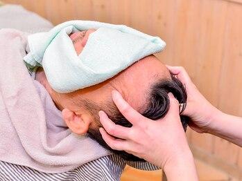 ラ プラース ヤマザキの写真/4つのコースから選べるヘッドスパ♪スッキリしたい方からぐっすり眠りたい・癒されたい方など幅広く対応◎