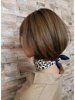 ジャパンヘアー 新都心店(JAPAN hair)ショートボブ
