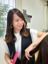 全スタッフが専門知識を有した髪の病院認定技術者なので安心して髪のお悩み改善を任せられる♪
