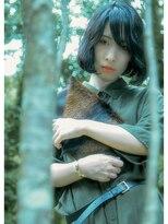 オゥルージュ(Au-rouge noma)【aurouge noma 村本美穂】黒髪大人ボブ 秋髪 ボブディ