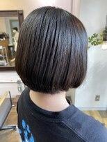 コレット ヘアー 大通(Colette hair)丸みのあるシンプルBob