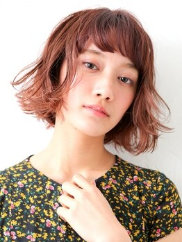 ロッカ(Rocca)の写真/ダメージレスにカラーリングをするならRoccaへ!くすんだ色味や透明感のあるカラーなど憧れの髪色が叶う♪