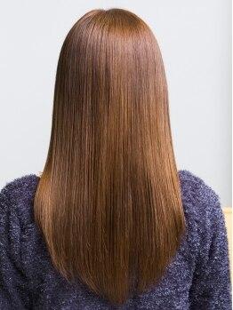 インデックスヘア 瑞江店(in'dex hair)の写真/高級薬剤でしっかり矯正、だけどナチュラルな仕上がり♪乾かすだけで簡単セットが出来るので朝の時短にも◎