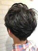 ヘアーアンドメイククリアー(Hair&Make CLEAR)メンズナチュラルパーマ