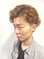くせ毛×艶束感×ウェービー2ブロック【Hommehair2nd】