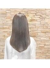 アロマ ヘアー ルーム 新宿店(AROMA hair room)外国人風カラー ベージュ アッシュ グレージュ バレイヤージュ
