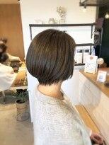 アミィヘアー(Ami Hair)カーキーアッシュ×ナチュラルBOB