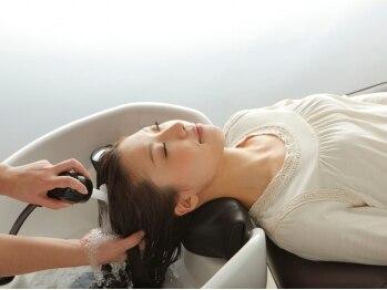 インデックスヘア 瑞江店(in'dex hair)の写真/話題の高濃度炭酸泉ヘッドスパで髪と地肌をリフレッシュ☆