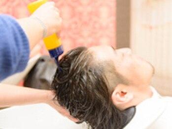 マヤ 竜王店(MYA)の写真/♪甲斐エリアMYAだけ♪ヘッドキュア!リンパの流れ意識した特別なマッサージ!5年後、美髪はケアが大切!