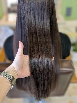 アンティリーフ(antileaf)の写真/《髪質改善11種類のoggiottoトリートメント取扱店♪》完全オーダーメイドであなたの髪をキレイに…☆