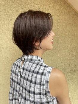 """ステララヴェスト(Stella L'ovest)の写真/周りと差が付くご褒美ヘアケアをご提供―。業界大注目の""""髪質改善トリートメント""""で憧れのサラ艶髪に♪"""