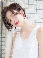 ルティア(Lutia)センターパート かきあげバング ショコラブラウン☆