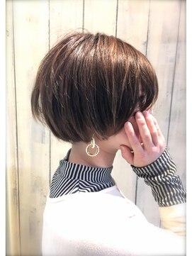 ニコアヘアデザイン(Nicoa hair design)しょーとぼぶ