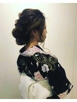 ヘアーリゾートラシックアールプラス(hair resort lachiq R+)《R+》浴衣☆ヘアアレンジ