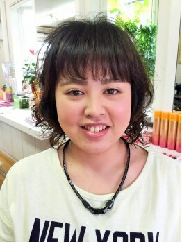 ヘアースタジオ エム(HAIR STUDIO M)の写真/女心をふわりと包むエアリーなヘアスタイルに☆髪の毛にボリュームを出したい大人女性にもおすすめです♪