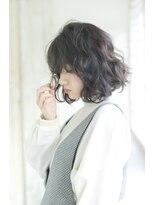 シーバイロンド(Sea by Lond)小顔毛先パーマ巻きシースルー黒髪アッシュ【MISA】新宿