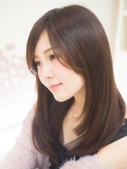 アメイジングヘアー 中沢店(AMAZING HAIR)の写真/《Aujua》取扱い☆【カット+カラー+Aujuaトリートメント¥13640~】しなやかで透明感のある美髪へ…