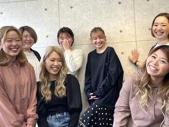 ルフレ(Reflet)の写真/《女性Staff多数☆》エクステ×カラー×ヘアセット…各方面のスペシャリストが集結★人気の秘密。それは…