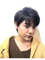 コレット ヘアー 大通(Colette hair)黒髪×ベリーショート×耳かけ