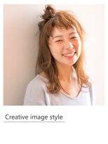 ヴェローグ シェ ブー(belog chez vous hair luxe)【Creative image styel】ハーフアップトップノット