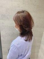 レザボア ヘアーアンドビューティー ハイブ店(reservoir Hair&Beauty Haibe)ゆるめウルフレイヤー