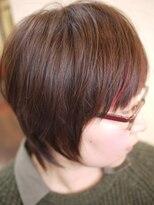 キーナ(Organic Hair KI-NA)サラサラ髪ならしたい!ウルフ系ショート