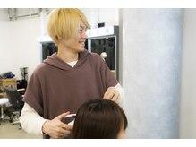 ≪美容室でセットした髪型を自宅でも再現できるようにスタイリング方法をアドバイス☆≫