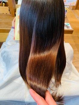 ティジェイ天気予報 豊田長興寺店(TJ)の写真/『サブリミック酸熱トリートメント』で自分史上最高の触り・まとまり・艶♪髪の内側から補強し持続性も◎