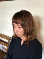 テントヘアー(tent hair)春カラー☆シフォンベージュ