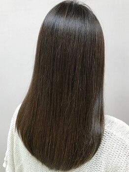 スエヒロ 十仁サロン末広(SUEHIRO)の写真/髪のお悩み解決!!思わず触れたくなる仕上がりに・・・ダメージを最小限に抑えているので納得の美髪へ◎