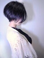 モリオ 池袋店(morio FROM LONDON)【morio池袋】黒髪ノーブルショート