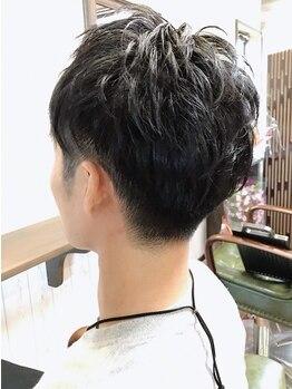 メンズヘア ホープ(Men's hair HOPE)の写真/【八代*メンズ特化店】ビジネスマン必見!!カットはもちろんお手入れMENUも充実だから、好感度◎スタイルに