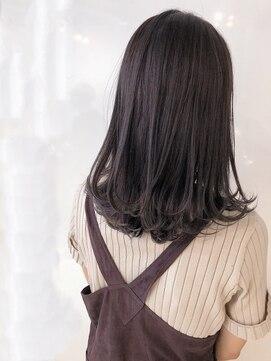 クールブ(Courbe)秋のトレンド♪『パープルアッシュ』サプリ補修で色持ちアップ☆