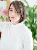 ココデサロン ハナレ 浅草(cocode salon HANARE)【浅草美容院HANARE】メッシュカラーで大人ミニボブb