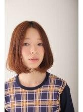 シュリンプイッチョウメモコ(SHRIMP一丁目moco)カジュアルボブ