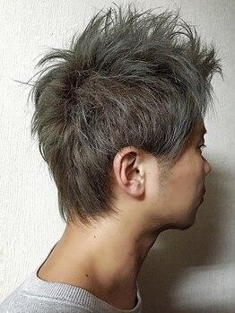 アーツヘアー JR上熊本駅店(ARTS@HAIR)の写真/【JR上熊本駅ナカ】この春のイメチェンはココで決める!周りと差が付くカラーデザインで一目置かれる髪に☆