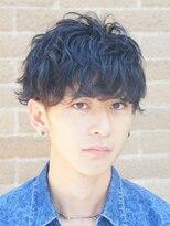 ザ サードヘアー 津田沼(THE 3rd HAIR)黒髪ツーブロックマッシュ