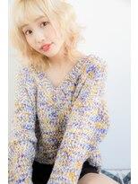 ハイトーン/ブリーチ/大人かわいい/10代20代/小顔/美肌/ホワイト