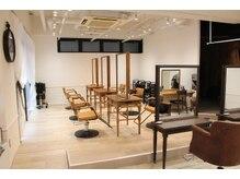 ヘアアトリエ ヴィフ(hair atelier Vif)の雰囲気(木のぬくもりと暖かい広々空間♪)