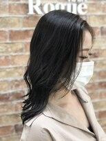ローグヘアー 板橋AEON店(Rogue HAIR)Rogue HAIR板橋AEON店【ナチュラルバングカラー×グレッグ】