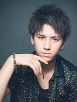 リップス 渋谷(LIPPS)短髪男子もパーマで舞髪【マーベリックショート】