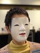 【coma中野】ピンパーマで作るくせ毛風ミセスパーマスタイル