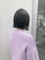 ビーチェ 渋谷(Bice)ナチュラルな切りっぱなしボブ【Bice渋谷】